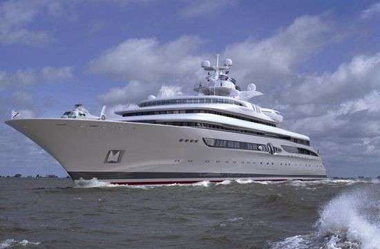 Blohm + Voss представила 120-метровую яхту