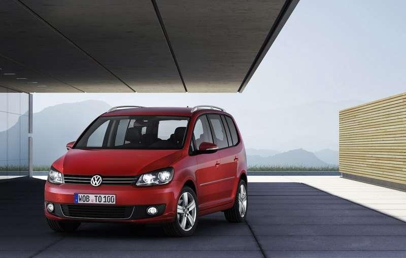 Volkswagen представил новый Touran