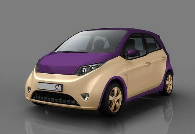 Городской автомобиль компании Онэксим