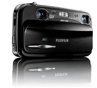 Fujifilm випустила 3D-фотокамеру FinePix Real 3D W3