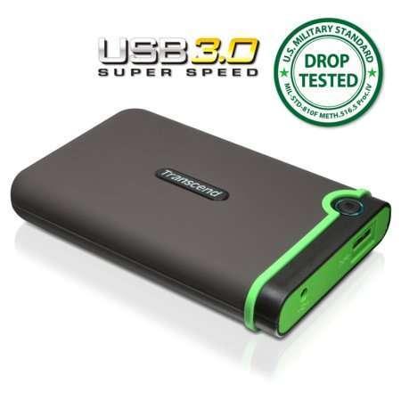 Transcend випустив зовнішній жорсткий диск з USB 3.0