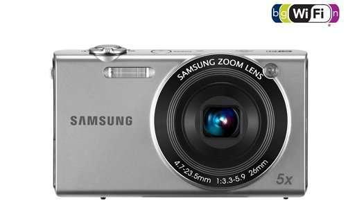 Samsung випустив камеру SH100 з Wi-Fi