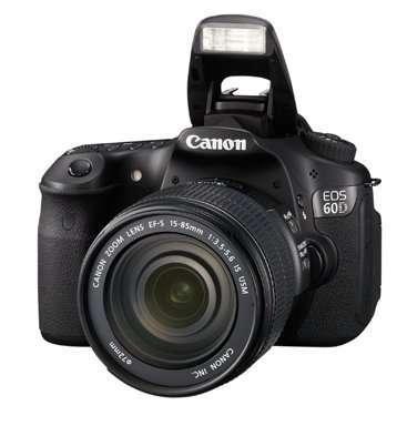 Canon випустив фотокамеру EOS 60D