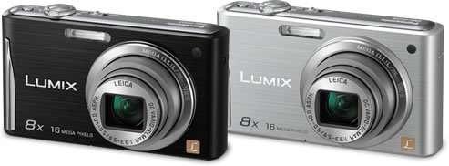 Panasonic представив фотоапарати DMC-FS37/FS35 з роздільною здатністю 16,1 мегапікселя